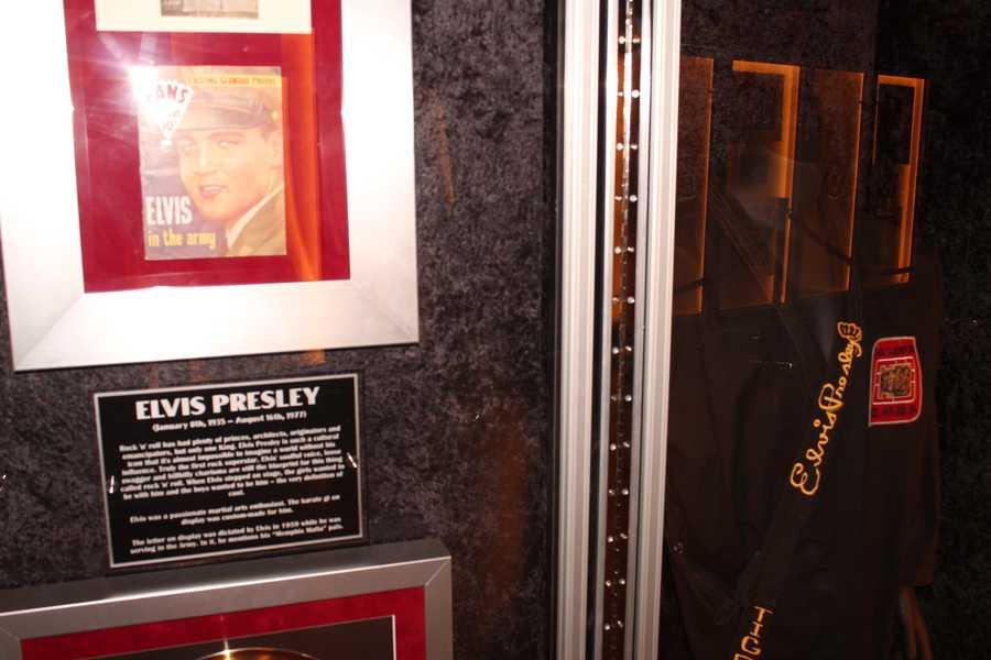 Elvis Presley's Karate gi