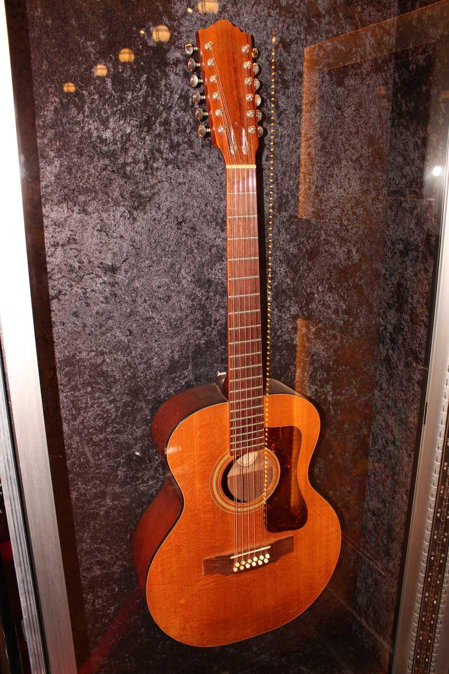 Bob Marley's Guild 12-string acoustic