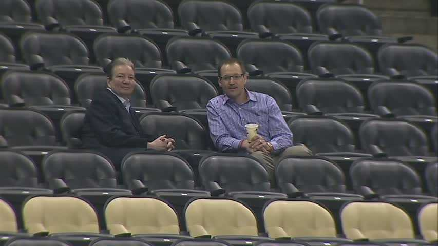 Ray Shero and Dan Bylsma