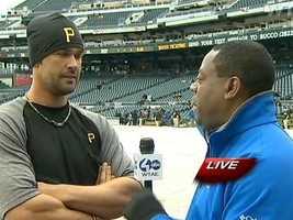 Andrew Stockey interviews Garrett Jones.