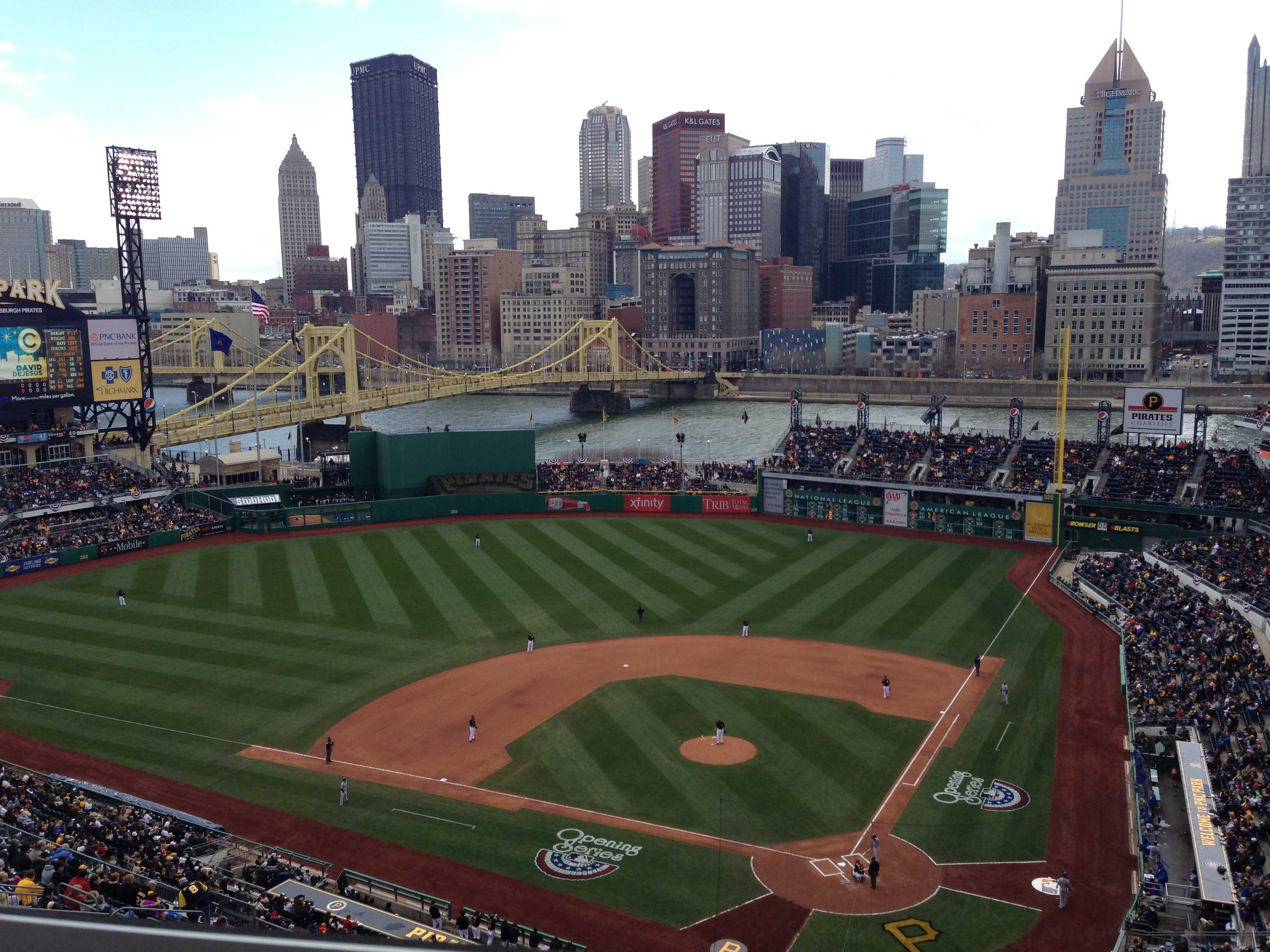 In Photos Opening Day At PNC Park