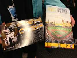 Fans attending the Home Opener received a free magnetic game schedule