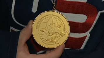 McCoy helped Team USA win a gold medal at the 2012 IPC Sledge World Championship in Hamar, Norway.