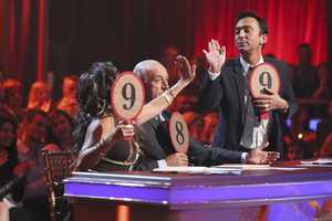 """The Judges - The competition continued as the 10 remaining celebrities celebrated """"The Best Year of Their Life"""" through dance, on Monday, April 8th. Each couple danced to a song of the celebrities' choosing that represents a memorable time or experience in their life. In addition, each celebrity was challenged to perform a brief solo during their performance. (Photo by ABC/Adam Taylor)"""
