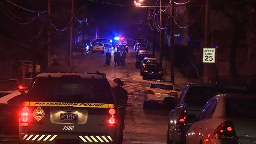 A Pittsburgh police officer and a suspect are shot multiple times during an early-morning foot pursuit.