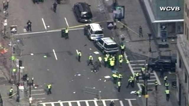 Boston Marathon explosion 2