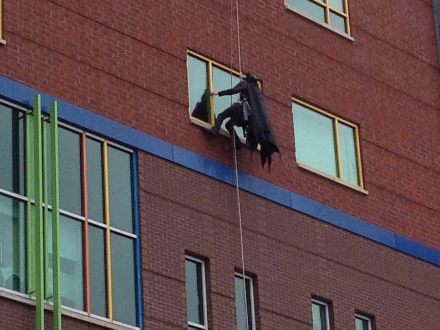 Batman at Children's Hospital