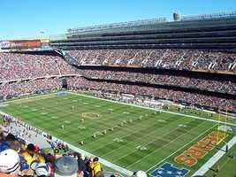 Soldier Field is the home of the NFL's Chicago Bears.