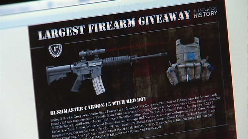 Erik Lowry's gun shop