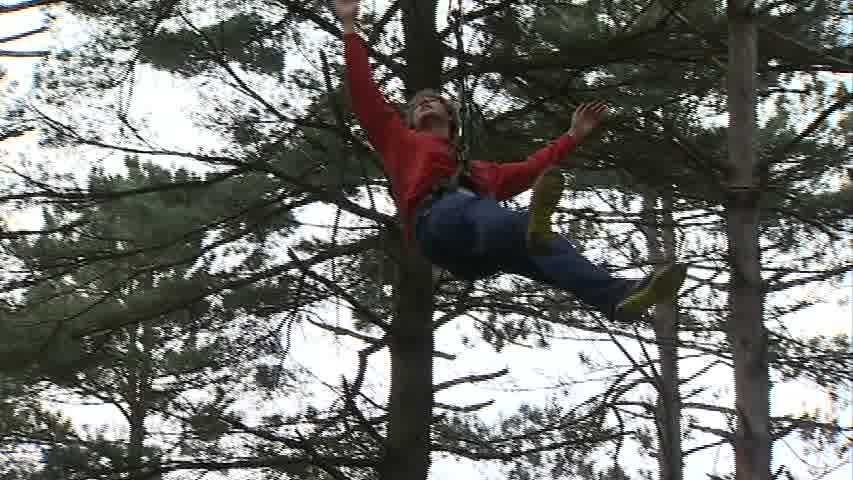 "The ""Go Ape"" outdoor course at North Park has ziplines, Tarzan swings and a series of ropes, ladders, bridges, swings and trapezes."