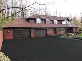 The house is located on Snyder Road in Peters Township.