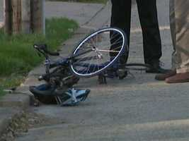 The 8-year-old boy was caught underneath the SUV near the corner of South Lexington Avenue and Reynold Street.