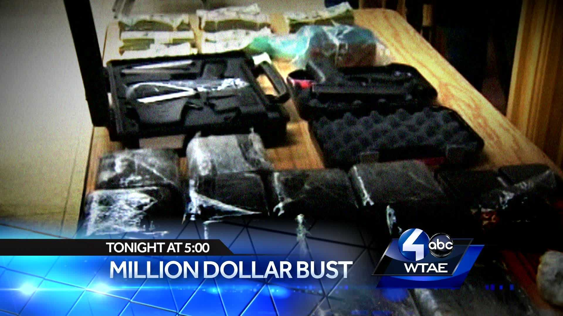 Multi-Million Dollar Cocaine Bust. The escalating drug problem in our Eastern Suburbs. Why narcotics traffic has increased in that area.Plus...Pittsburgh Marathon Financial Concerns. How the Boston Attacks are impacting the bottom line.