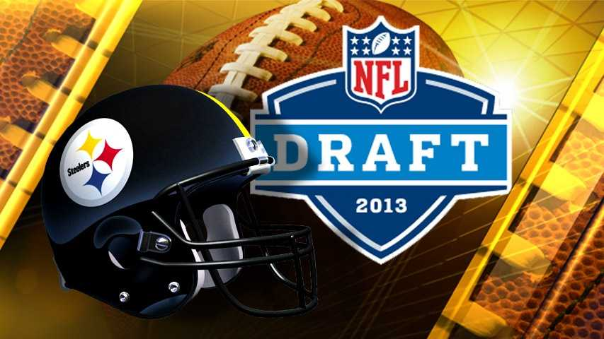 2013 Steelers draft graphic