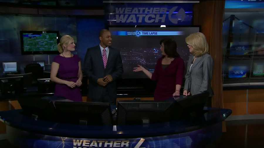 Everyone from Channel 4 Action News This Morning was talking about a cool weather video on Friday.