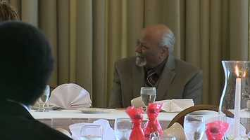 William Snooks was one of 20,000 African-American men who broke the color barrier by serving as a United States Marine during World War II. Snooks doesn't talk about his tours much, but he did reflect on Saturday.