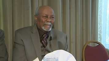 """William """"McKenzie"""" Snooks, 88, missed a recent ceremony in Washington, D.C., where 400 of his colleagues were awarded the honor for being among the first African-American men to serve in the Marines."""