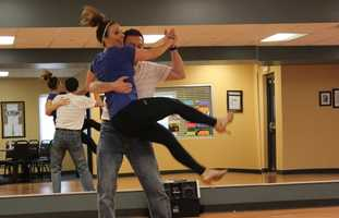 Weather Watch 4 Meteorologist Ashley Dougherty and her dance partner, Jeff Shirey of Salsa Pittsburgh, prepare for May 4th's Dancing with the Celebrities of Pittsburgh where they will perform the Salsa. Details & Tickets go to: http://www.dancingwiththecelebritiesofpgh.org