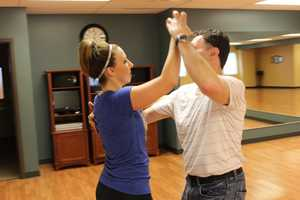Weather Watch 4 Meteorologist Ashley Dougherty and her dance partner, Jeff Shirey of Salsa Pittsburgh, prepare for May 4th's Dancing with the Celebrities of Pittsburgh where they will perform the Salsa. Details & Tickets go to: http://www.dancingwiththecelebritiesofpgh.orgFlashback: Check out Ashley's last competition from October