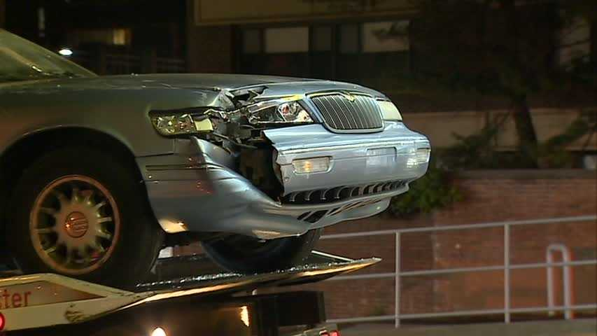 Click here to watch video of the crash scene in Oakland.