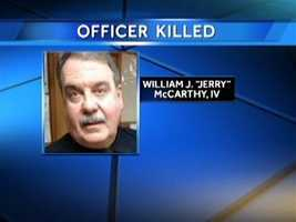 """Officer William """"Jerry"""" McCarthy"""