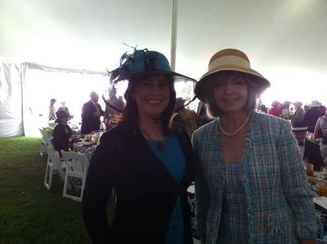 Action News' Michelle Wright and Sally Wiggin took part in the Annual Pittsburgh Parks Conservancy's Spring Hat Luncheon. Check out all the hats seen around the event by the ladies.