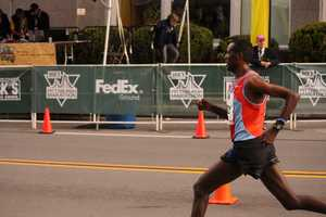 Action News Photographer Andy Cunningham captured these photos from the finish line area of the Pittsburgh Marathon & half marathon.