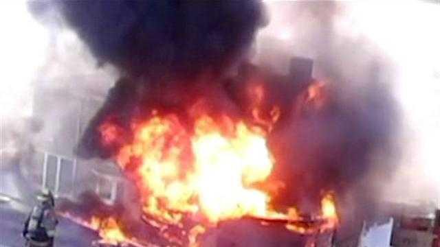 Belle Vernon fiery crash