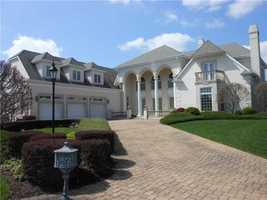 This Presto, PA home features four bedrooms, seven bathrooms, and gorgeous views of the estate grounds. Entertain your guests on the lower level which includes a bar, billiard tables, gaming rooms and much more. The home is feature on realtor.com.