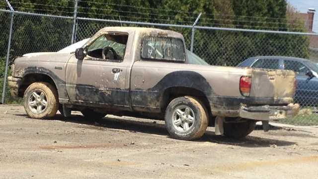 South Mahoning Township pickup truck crash