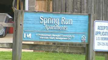 It was just two days earlier that the bomb squad was called to the Spring Run Apartments when Monac's 3-year-old daughter found a pipe-bomb like device while playing outside.