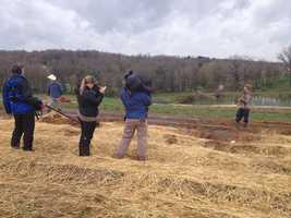 """Action New's Marcie Cipriani takes behind the scenes of GAC's """"Farm Kings"""" and its impact on Butler County."""