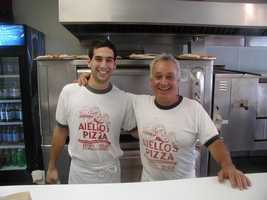 """Joel Hoffman said: """"One story to share about Joe. He told me what made his pizza so good was his commitment to quality. He even made the dough by hand every day and wouldn't use a mixer, because that's not how he learned. He said that when he died, he was going to have someone stop by periodically and check to make sure they continued to follow his standards, and if they didn't they were out. I used to tell Mike that I was going to be that guy, and he better watch out. I know that won't be the case, and that Mike has, and will continue to make his dad proud."""""""