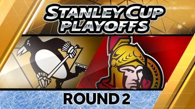 Penguins-Senators playoff image (2013)