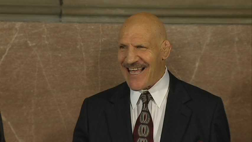 """""""It is a great privilege to honor Bruno Sammartino today. He has been an inspiration to so many people in our region and across the world who have looked up to him,"""" Fitzgerald said in a statement. """"We are truly blessed that he calls Allegheny County home. This is just one small way that we can recognize the contributions that he has made to our county as wrestling's Living Legend."""""""