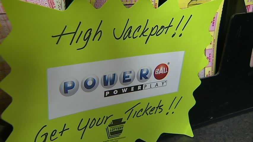 Powerball sign