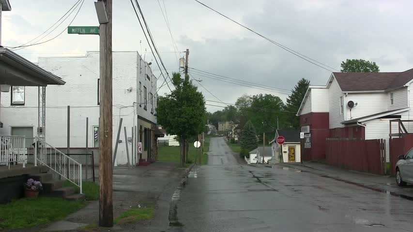 Mifflin Avenue in Uniontown