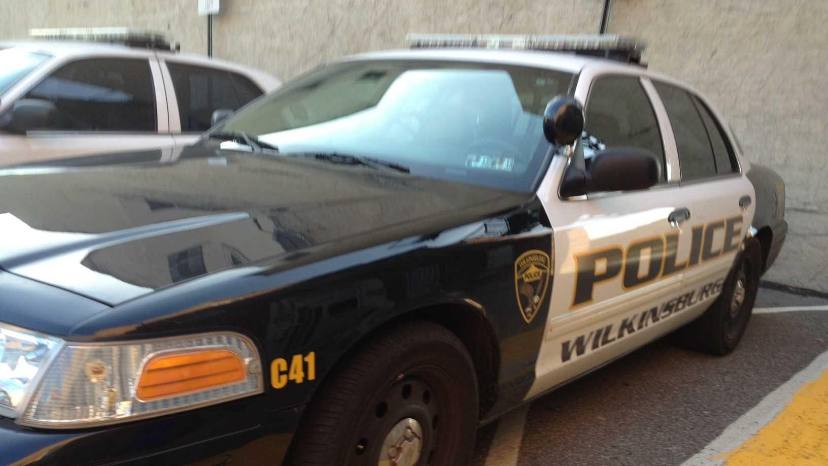 Wilkinsburg police car