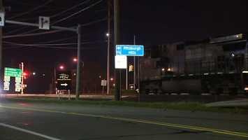 Railroad crossing on Freeport Road in East Deer Township
