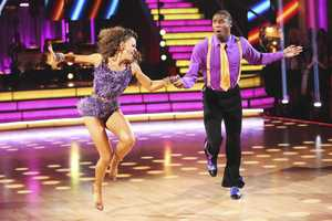 Jacoby & Karina - In the final two-hour performance show, the remaining couples competed in three rounds of dance. In the first round, each couple took on a new routine in a dance style that the judges wanted to see again. In round two, the couples were challenged to a Cha Cha relay, where each pair danced to a different section of the same song. In the last round -- and one of the biggest competitive dances of the season -- the couples took on a supersized freestyle featuring special effects, additional dancers and unexpected surprises. (ABC/Adam Taylor)