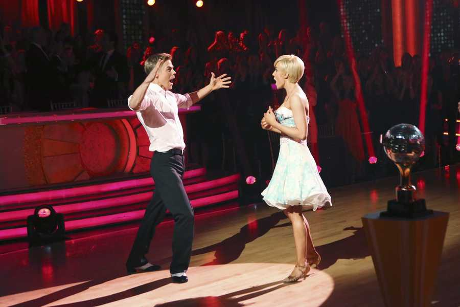 """After 10 weeks of entertaining, stylized dancing, Kellie Pickler and Derek Hough were crowned """"Dancing with the Stars"""" Champions. on the two-hour Season Finale of """"Dancing with the Stars the Results Show,"""" (ABC/Adam Taylor)"""