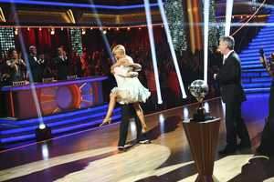 "After 10 weeks of entertaining, stylized dancing, Kellie Pickler and Derek Hough were crowned ""Dancing with the Stars"" Champions. on the two-hour Season Finale of ""Dancing with the Stars the Results Show,"" (ABC/Adam Taylor)"