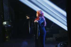 "WYNONNA JUDD - The entire celebrity cast returned on the two-hour Season Finale of ""Dancing with the Stars the Results Show,"" (ABC/Kelsey McNeal)"