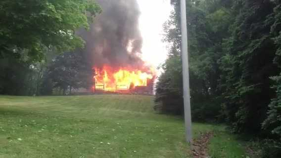 Ohio Township house fire