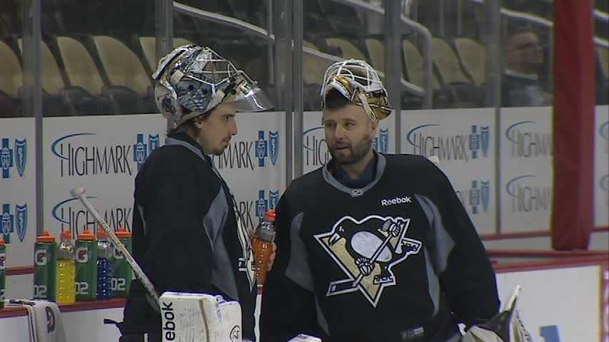 Marc-Andre Fleury and Tomas Vokoun