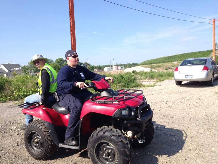 ATVs were used to search for Alivia Kail's body.
