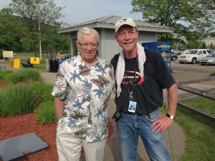 Joe DeNardo and WTAE photographer John McKee