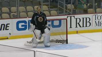 Pittsburgh fans hope they'll see plenty of pucks behind Boston goalie Tuukka Rask in 2013 too.