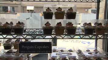 Penguins cupcakes