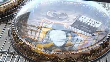 Pittsburgh Penguins cookie cake